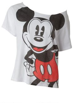 Mickey Mouse…would totally wear!