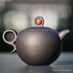 """this little teapot spoke to me..."""