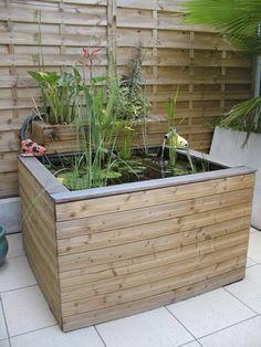 8 Idees De Bassin De Jardin Pour Dynamiser La Deco Exterieure Bassin Hors Sol Bassin De Jardin Et Jardin D Eau