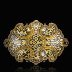 Ottoman Provinces | Silver gilt and nielloed belt buckle | 19th century | Est. 4'000 - 6'000£ ~ (Sept '14)