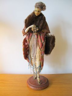 1920 LAFITTE DESIRAT FRENCH WAX FASHION DOLL