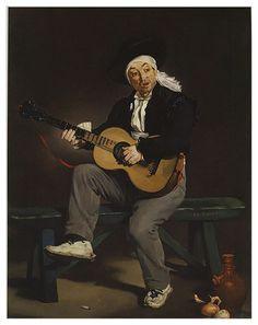 Manet's Spanish Guitarist