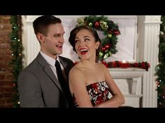 """Watch Laura Osnes and Christopher Rice Tap Their Way Through """"Baby, It's Cold Outside"""" (Video) - Playbill.com"""