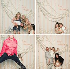 """like the background for the photo """"booth"""" ... easy to make for a party"""