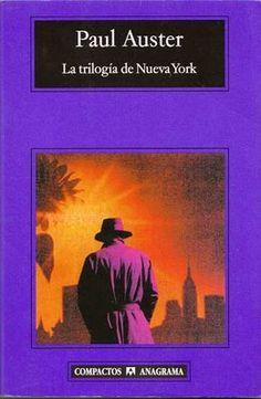 """""""La trilogia de Nueva York"""" .- Paul Auster"""