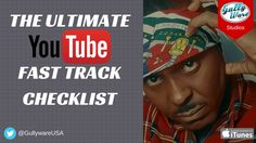 The Ultimate YouTube Fast Track Checklist - Free Download