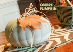 Sport a Trend This Fall With Ombre Pumpkins!