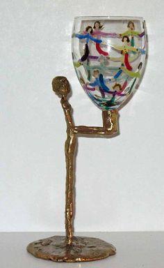 Miriam's Legacy hand sculpted bronze Miriams cup by LindaGissen