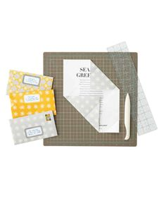 Printable envelopes, labels & instructions