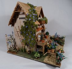 Msh115 Windmill House 55 00 Karen Cary S Miniatures