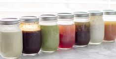 This is a decent list of recipes for dressings not using any oils