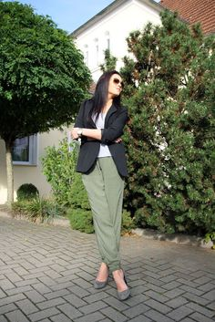 army green pants inspiration