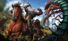 The Witcher Wild Hunt: Blood and Wine by PatrickBrown.deviantart.com on @DeviantArt