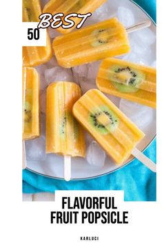 The best recipes Flavorful Fruit Popsicle Rainbow Popsicle Recipe Outstanding 7 layer rainbow popsicles! Make your own homemade rainbow popsicles with lots of fresh fruit! Blueberry Yogurt Popsicles, Homemade Fruit Popsicles, Breakfast Popsicles, Banana Popsicles, Smoothie Popsicles, Avocado Smoothie, Home Made Popsicles Healthy, Healthy Popsicle Recipes, Healthy Snacks