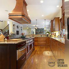 Copper Range Hoods Custom Kitchen Stove Vent Hood
