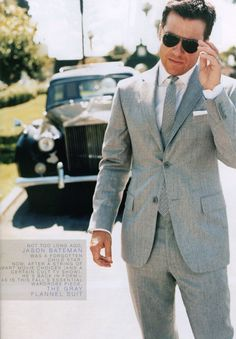 The perfection in a grey suit