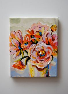 He Set Me Apart Before I Was Born - Original Acrylic Painting