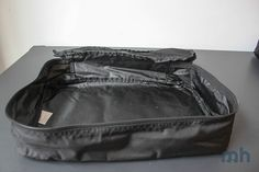 """""""Because the fabric isn't stiff, I was able to stuff in as much as I wanted to in each. I was also able to leave others emptier and that, believe it or not, didn't end up being empty wasted space."""" #MapHappy: #EatSmart Travelwise Packing Cube System #Review. #travel #packing #packingtips"""