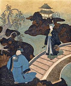 View Camaralzaman as an astrologer from Princess Badoura A Tale from the Arabian Nights by Edmund Dulac on artnet. Browse upcoming and past auction lots by Edmund Dulac. Edmund Dulac, Arabian Nights, Golden Age, Astrology, Past, Auction, Princess, Illustration, Painting