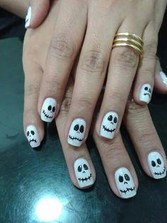 Hallowen nail