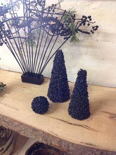 Kegler/ juletræer af cykelslanger