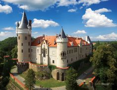 Zámek Žleby - Czech republic