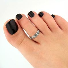 sterling silver toe ring XO design toe ring adjustable toe