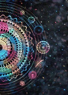 sistema solar psychedelic - Buscar con Google
