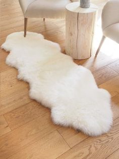Furniture - Living - Rugs - The Cross Decor & Design Throw Cushions, Throw Rugs, Pillows, Large Sheepskin Rug, Sheep Rug, Mens Bedding Sets, Soft Chair, Faux Fur Rug, Rug Inspiration