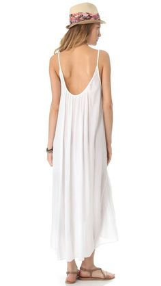 I just made this in bubble gauze...looks exactly like this...cover-up/nightie...9seed Tulum Cover Up