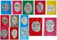 les petites têtes de l'art: Expressions
