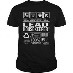 AWESOME TEE FOR LEAD HOUSEKEEPER T-SHIRTS, HOODIES #awesome #tee #for #lead #housekeeper #tshirts #hoodies #fashion #women