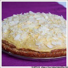 Gâteau au panais à la crème de citron