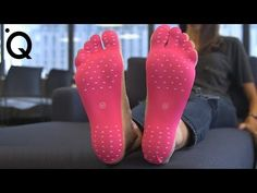 """We put stick-on foot pads to the test. We were """"barefoot"""" on the grass, in the streets, on the beach and more to see if they really work. They are waterproof and they protect your feet from the elements. Could these stickers replace your shoes? Top 10 Shoes, New Shoes, Gifts For Friends, Gifts For Her, Futuristic Shoes, Future Gadgets, Foot Pads, Trending Videos, Inventions"""