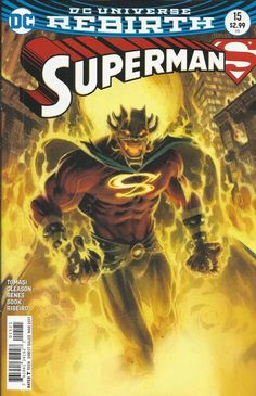 DC Superman Universe Rebirth comic issue 15 Limited variant
