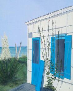 Acrylique sur toile 50 x 70