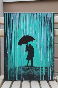 RESERVE for Brandi Umbrella Silhouette Couple by DannaLivingston
