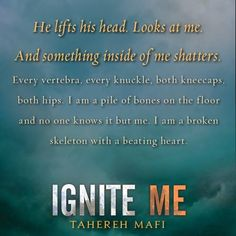 20 Beautiful Quotes From IGNITE ME | Epic Reads Blog