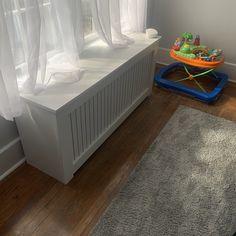 Radiator Covers Ikea, Custom Radiator Covers, Modern Radiator Cover, First Apartment, Bedroom Apartment, Wall Heater Cover, Dark Master Bedroom, Steam Radiators