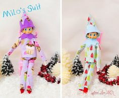 For my friends who do the Elf tradition. Elf on the Shelf Clothes - sewing patterns!
