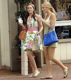 Gossip Girls in the Hamptons.