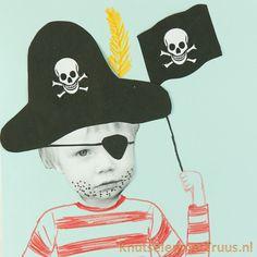 Een stoere piraten knutsel