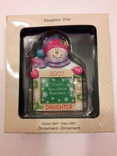 Strawberry shortcake christmas ornament fraisinette scented american christmas frame ornament american greetings vintage 2007 daughter m4hsunfo Image collections