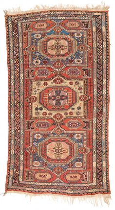 Sumakh Caucasus end 19th century 12ft. 1in. x 7ft. 2in.