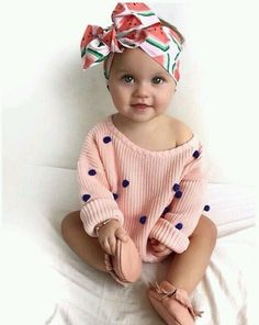 Really Cute Baby Girl Clothes - Then shopping for toddler girl clothing is probably one of your most pursuits in case you So Cute Baby, Baby Kind, Cute Kids, Cute Babies, Cute Baby Stuff, Cutest Babies Ever, Fashion Kids, Baby Girl Fashion, Babies Fashion