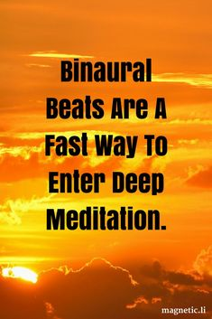 Deep meditation has all the benefits of a good nights sleep but can take time to master. Read my blog post to discover how delta binaural beats can help you enter deep meditation fast, and boost cell regeneration