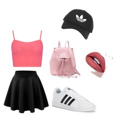 """""""Untitled #9"""" by sophiaisastar ❤ liked on Polyvore featuring WearAll, adidas and Topshop"""