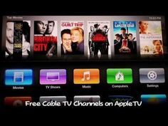 Watch Live HDTV Channels on #AppleTV #YouTube #GadgetLove #geek #JailBreak #LynnFriedman