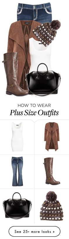 """""""Untitled #12814"""" by nanette-253 on Polyvore featuring maurices, Avenue, VILA, Merrell and Givenchy"""