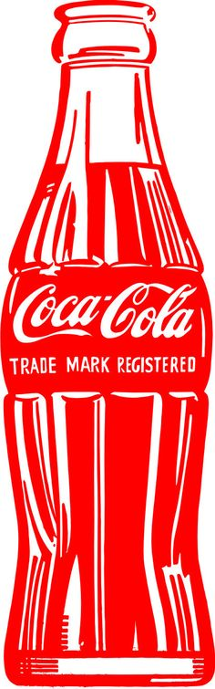 LARGE Coca Cola Vinyl Decal Wall Sticker